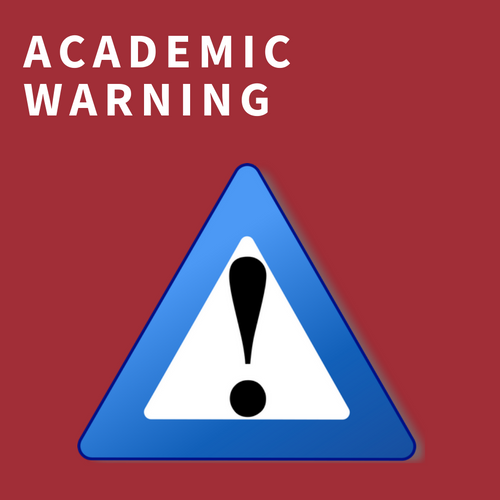 academic warning
