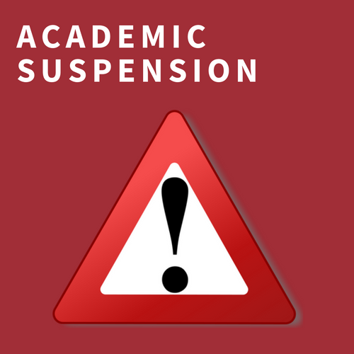 academic suspension