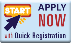 Button to Apply Now with Quick Registration