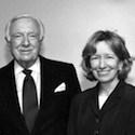 Walter Cronkite with Doris Kearns Goodwin