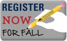 Register Now for Fall